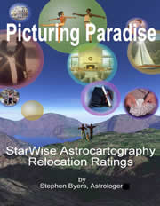 Picturing Paradise --- Astrocartography Relocation Ratings