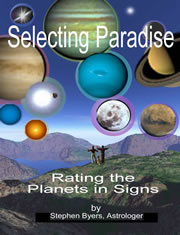 Selecting Paradise --- Rating the Planets in Signs